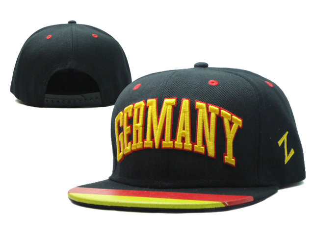 Germany Black Snapbacks Hat SF